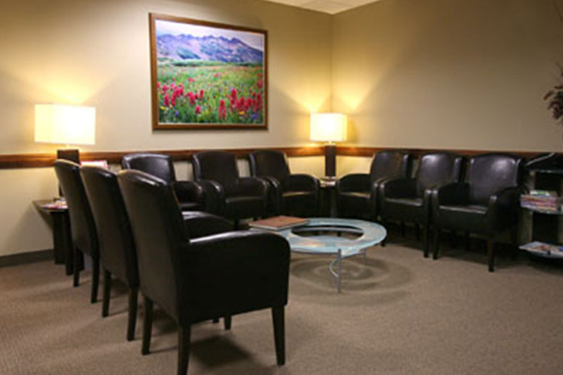 CCRM Colorado waiting room