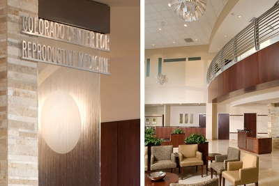 Colorado Center for Reproductive Medicine waiting room