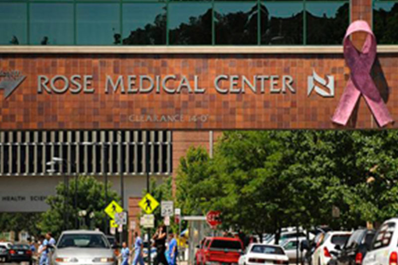 CCRM Rose Medical Center sign