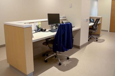 CCRM New York front desks