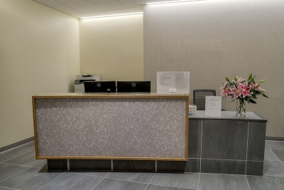 CCRM New York front desk