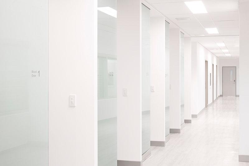 Hannam Fertility Centre hallway