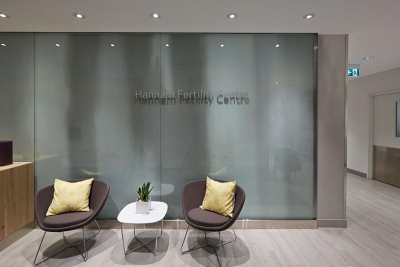 Hannam Fertility Centre waiting room