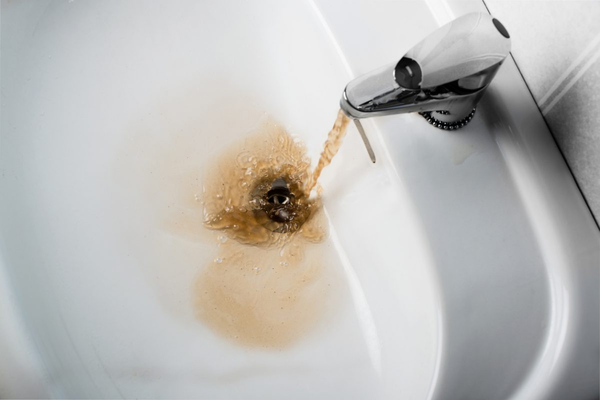 Dirty Water Coming Out of Faucet