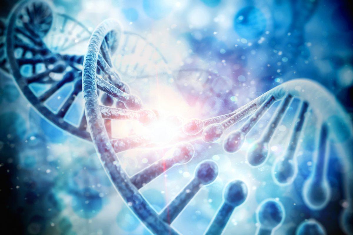Realistic DNA photo
