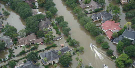 Flooding from Hurricane Harvey