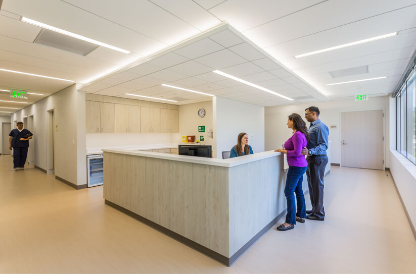CCRM San Francisco Nurse Station