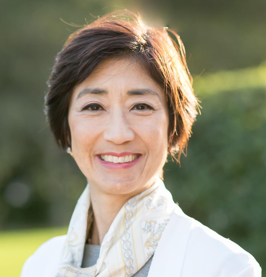Dr. Salli Tazuke Headshot