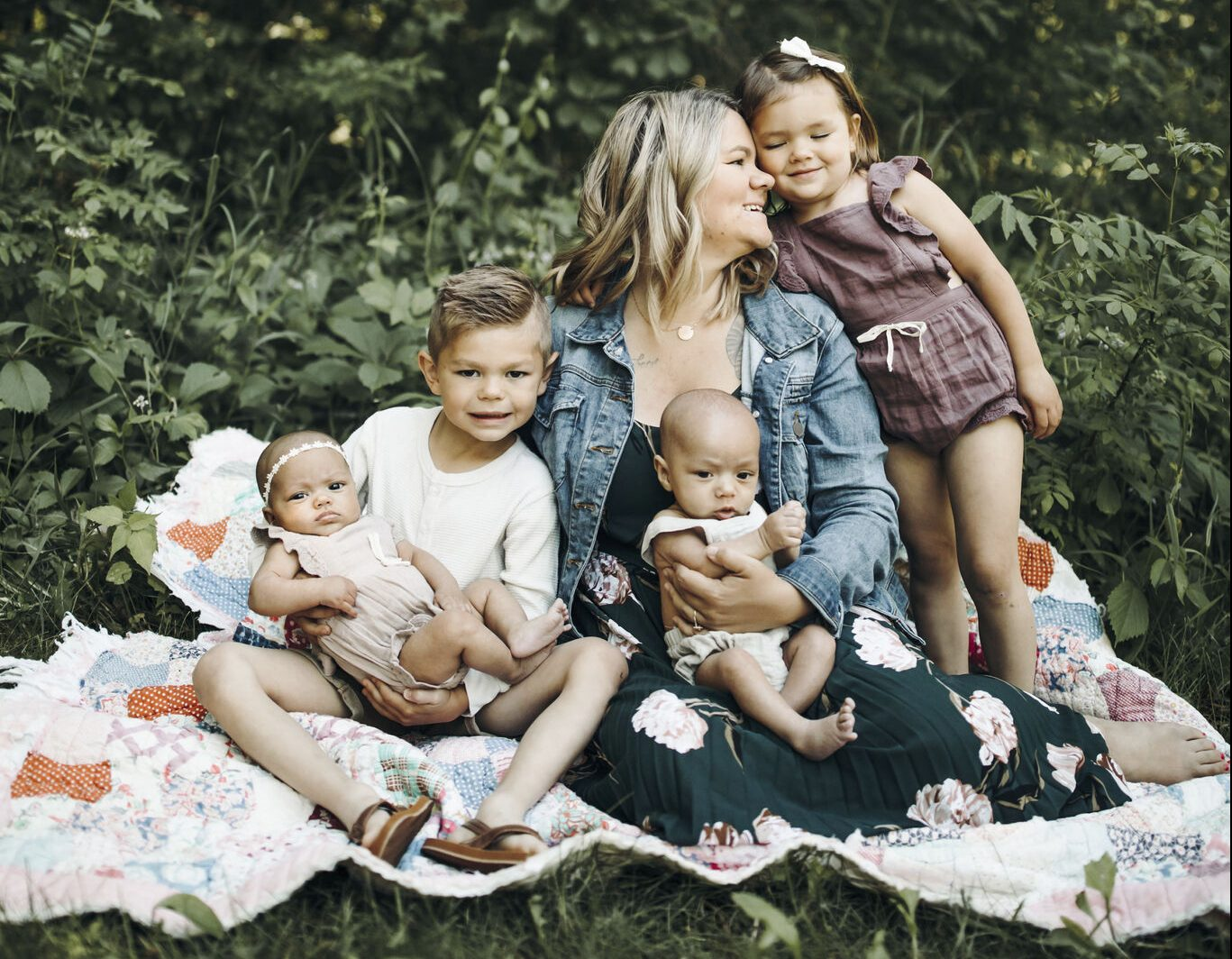Happy family built with fertility treatments